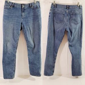J. Jill Stretch Straight Leg Petite 10 Jeans Pants